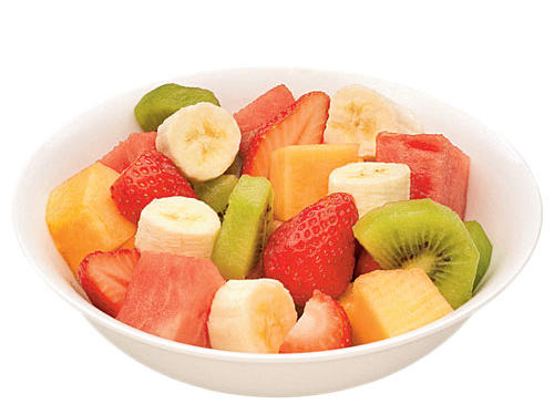 A bowl of fruit salad