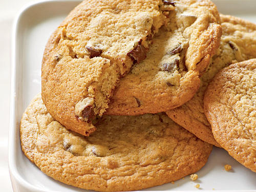 Giant Chocolate Chunk Cookies Comfort Food Recipe