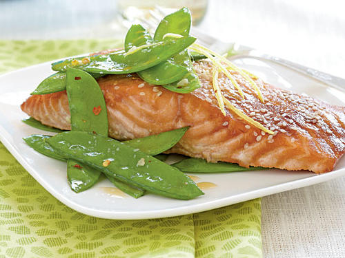 Salmon with Hoisin Glaze Recipe