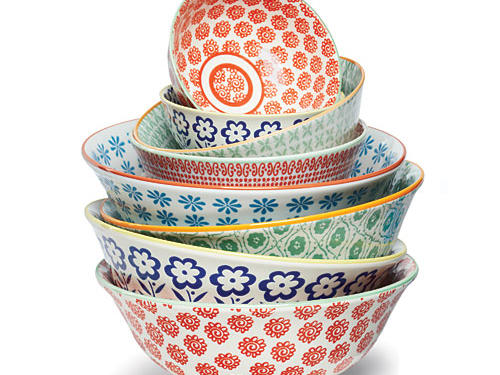 Decorative bowls by Anthropologie