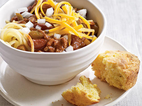 Healthy Dinner Recipe: Cincinnati Turkey Chili