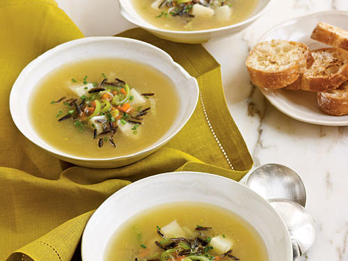 Wild Rice and Celery Root Soup Recipes