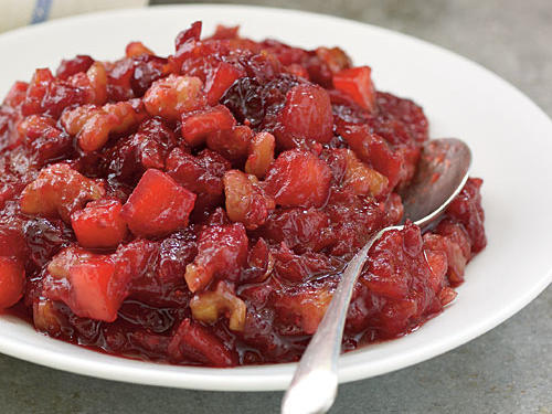 Top-Rated Fruit Recipe: Cranberry Apple and Walnut Sauce