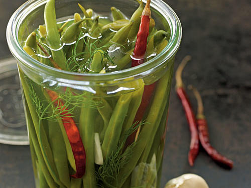 Spicy Pickled Green Beans Recipes