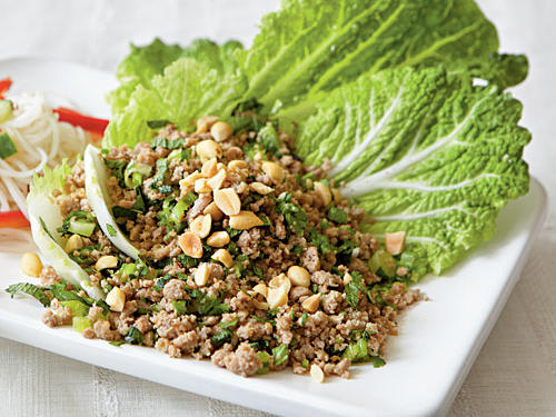 Healthy Dinner Recipe: Asian Turkey Cabbage Cups