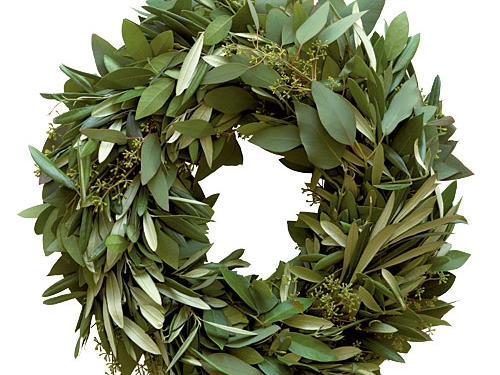 Lindsay Olives Holiday Wreath