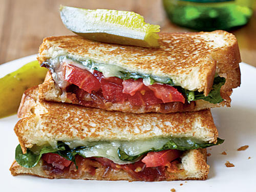 Grown-Up Grilled Cheese Sandwiches Comfort Food Recipe