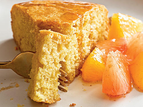 Tuscan Cake with Citrus Compote Recipe