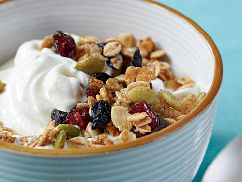 Toasted Barley and Berry Granola Whole-Grain Recipe