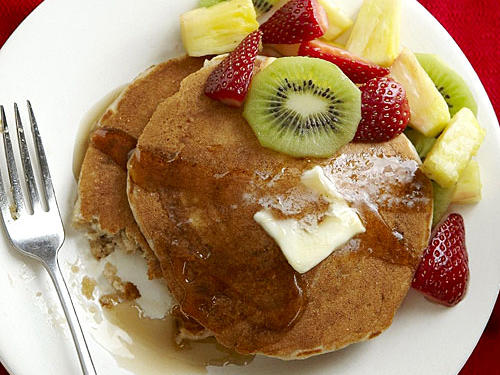 Whole-Wheat Buttermilk Pancakes Recipes