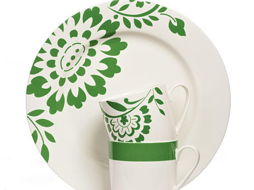 Martha Stewart Hudson and Classic Band Dinnerware