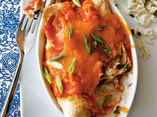 Top-Rated Budget Recipes: Chicken Enchiladas