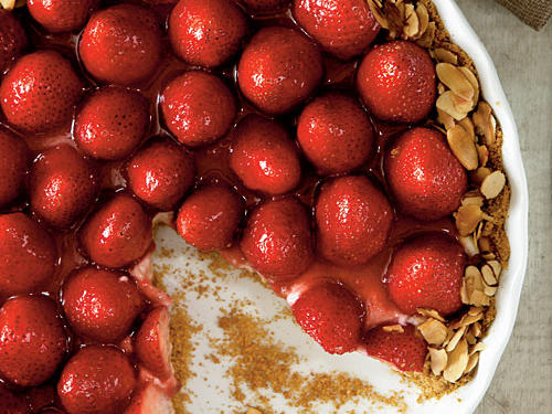 Strawberry-Almond Cream Tart Recipes