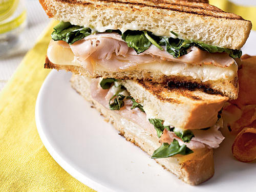 Turkey Panini with Watercress and Citrus Aioli Makeover