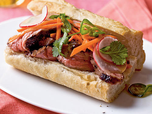 Banh Mi-Style Roast Beef Sandwiches Recipes