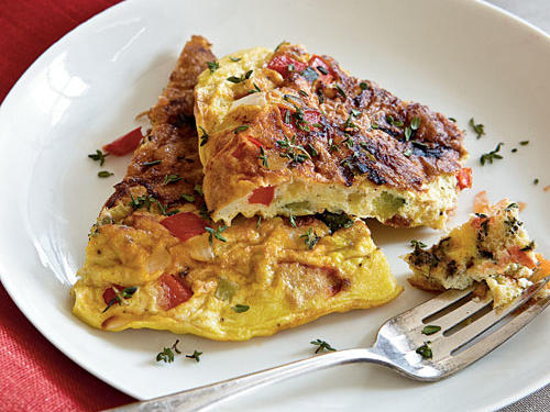 1507 Summer Vegetable Frittata