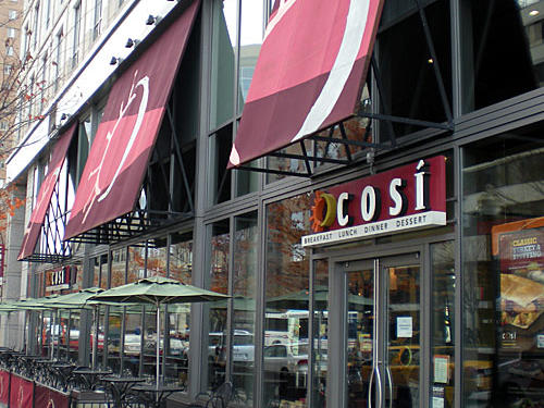 Cosi Salad Nutrition