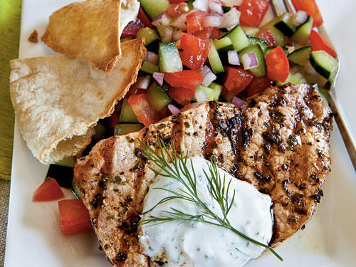 Greek-Style Pork Chops Recipe