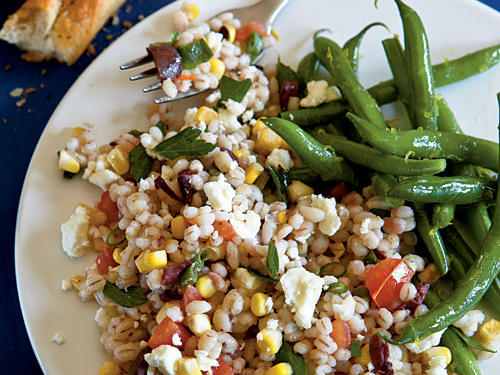 Summer Barley Salad Recipe