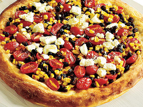 Quick Tex-Mex Confetti Pizza Recipes