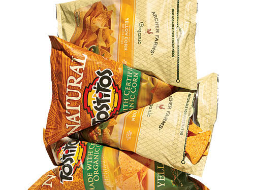 Tortilla Chips (100% yellow corn)