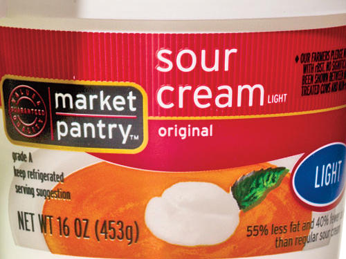 Target Market Pantry Light Sour Cream
