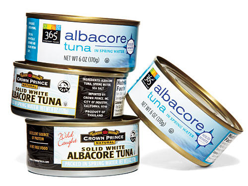 Albacore Tuna (packed in water)