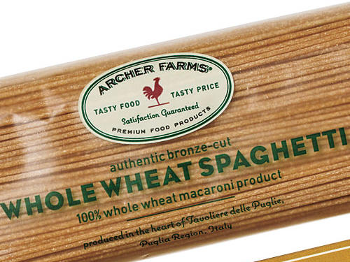 Target Archer Farms Whole-Wheat Spaghetti