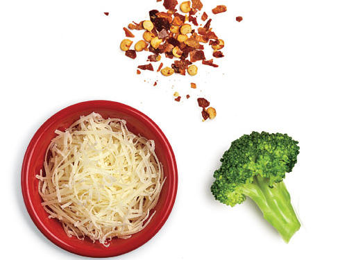 Broccoli and Cheese Low-Calorie Potato Toppings