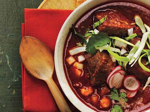 November: Toasted Guajillo and Pork Posole