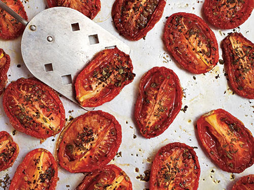 Roast Seasoned Tomato Halves