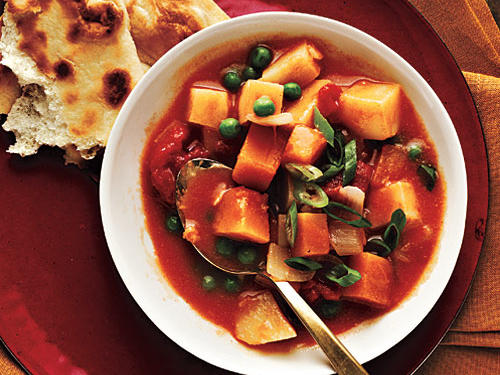 Curried Potatoes and Squash