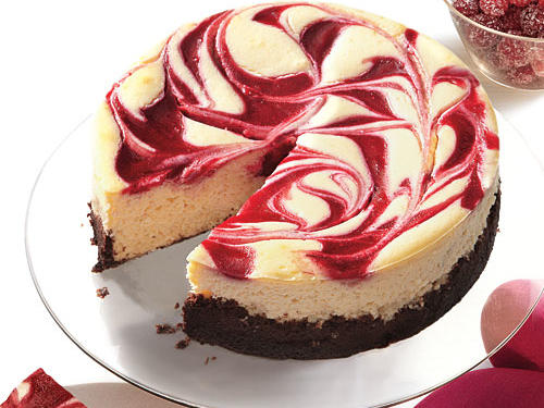 Cranberry Swirl Cheesecake Recipes
