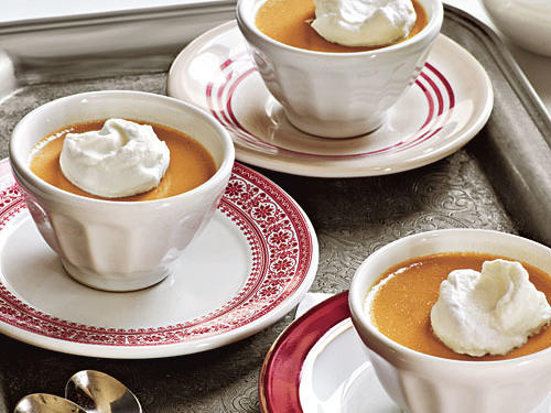 Butterscotch Pots de Crème Recipe