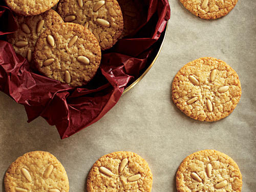 Pine Nut Cookies Recipe