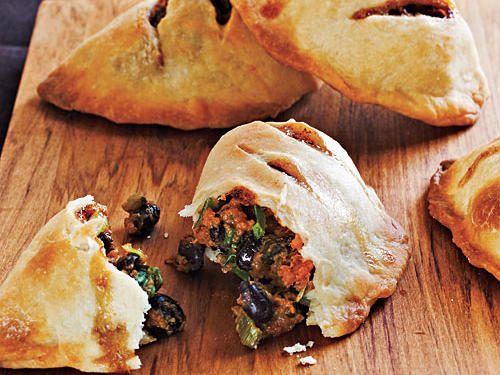 Sweet Potato and Black Bean Empanadas Recipe