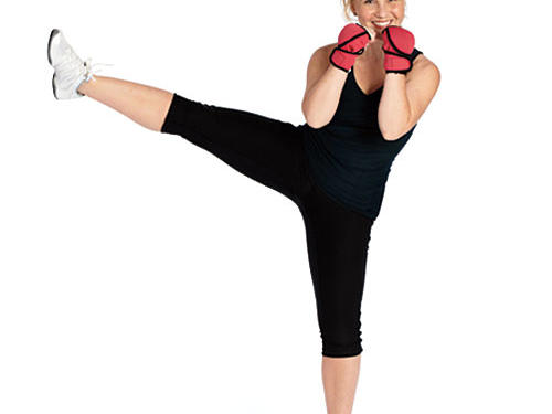 Brandy Rushing: Kickboxing