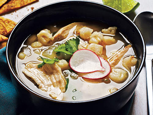 Mexican Chicken-Hominy Soup Recipes
