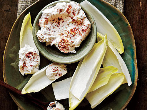 Endive Spears with Spicy Goat Cheese Recipe