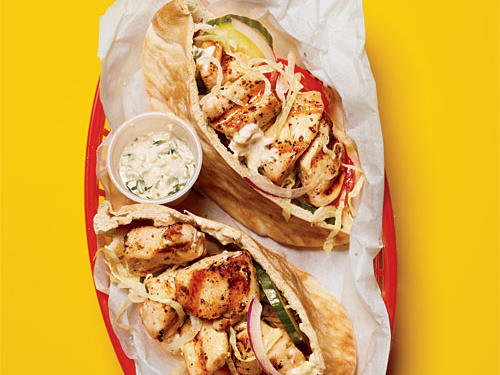 1103 Chicken Souvlaki