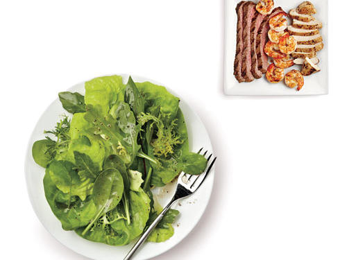 Healthy Salad Entree Toppings