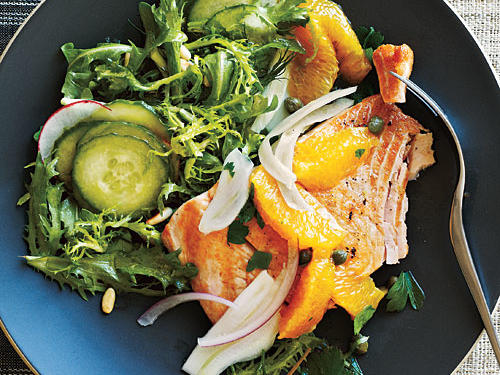 Arctic Char with Orange-Caper Relish Recipe