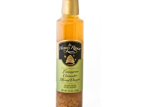 Honey Ridge Farms Lemongrass Coriander Honey Vinegar