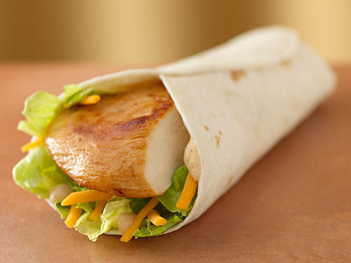 Wendy's Grilled Chicken Go Wrap