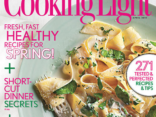 Cooking Light April 2011 Cover