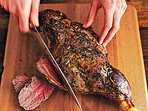 How to Carve Lamb Leg