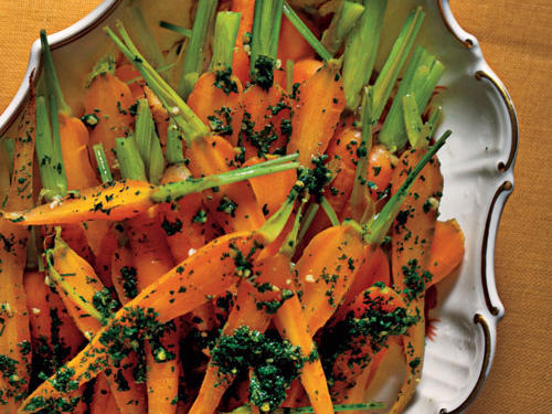 Israeli Carrots Comfort Food Recipe