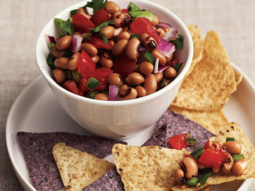 Black-Eyed Pea and Tomato Salsa