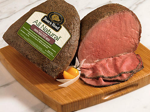 Boar's Head All Natural Cap-Off Top Round Oven Roasted Beef