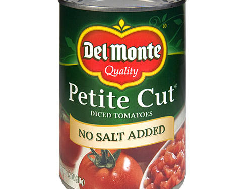 1104 Del Monte No Salt Added Petite Diced Canned Tomatoes